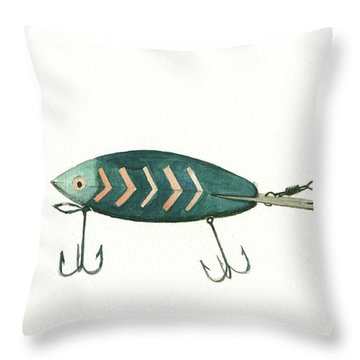 Fishing Throw Pillows