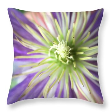 Flower Throw Pillow by Maxim Tzinman