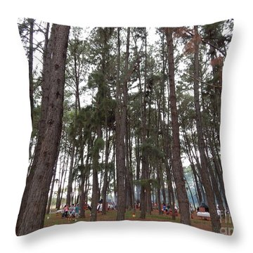 Throw Pillow featuring the photograph Giant by Beto Machado