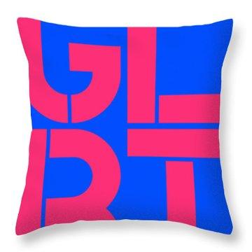 Glbt Throw Pillow