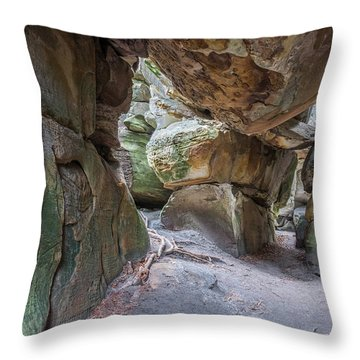 Throw Pillow featuring the photograph Great Virginia Channels  by Kevin Blackburn