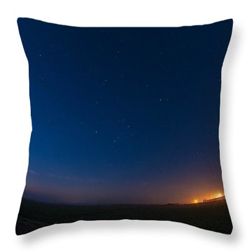 5 Planet Alignment 2016 Throw Pillow