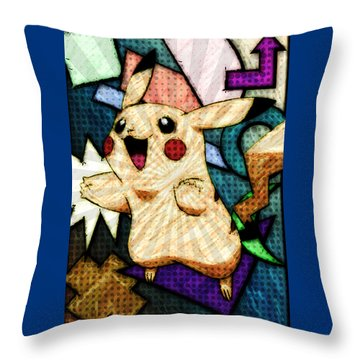 Pokemon - Pikachu Throw Pillow
