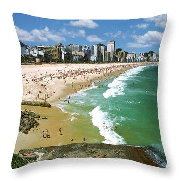 Rio De Janeiro, Brazil Throw Pillow