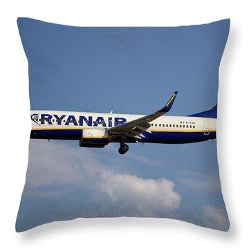 Ryanair Throw Pillows