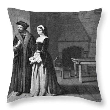 Sir Thomas More (1478-1535) Throw Pillow by Granger