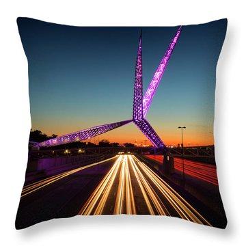 Skydance Throw Pillow
