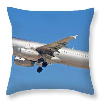 Spirit Airline Throw Pillow