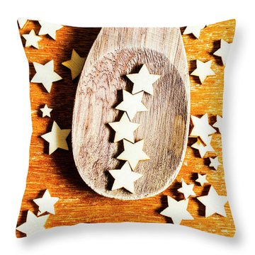 5 Star Catering And Restaurant Award Throw Pillow