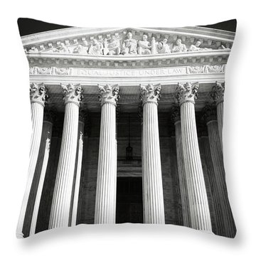 Supreme Court Of The United States Of America Throw Pillow