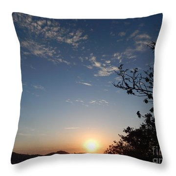 Throw Pillow featuring the photograph The End by Beto Machado