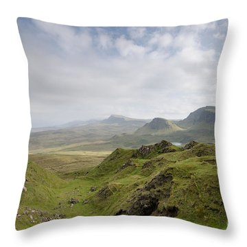 The Quiraing Throw Pillow