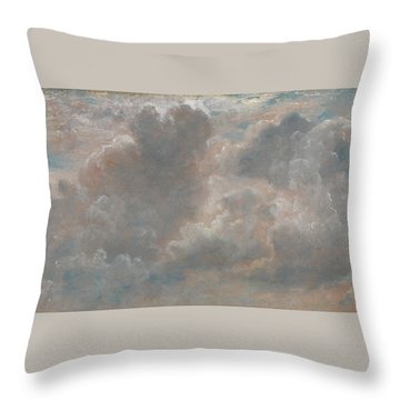 Title Cloud Study Throw Pillow
