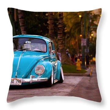 Volkswagen Beetle Throw Pillow