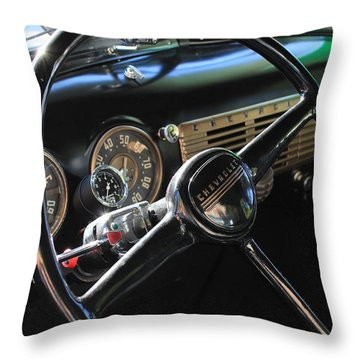 50 Chevy Throw Pillow