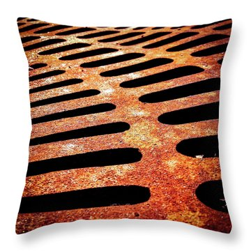 Iron Detail Throw Pillow