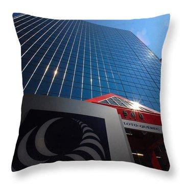 500 Rue Sherbrooke Ouest Throw Pillow by John Schneider