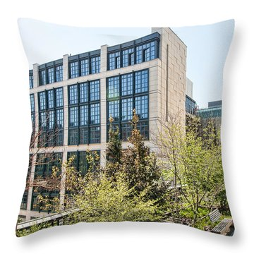 500 W21st Street 1 Throw Pillow