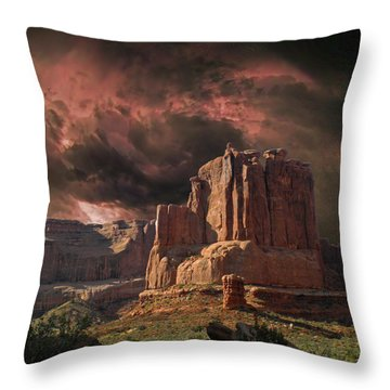 4150 Throw Pillow by Peter Holme III