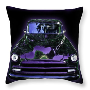51chevrolet Coupe Throw Pillow by Peter Piatt