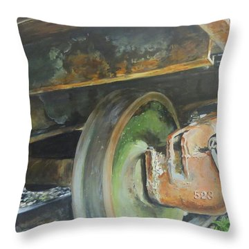 523 Throw Pillow