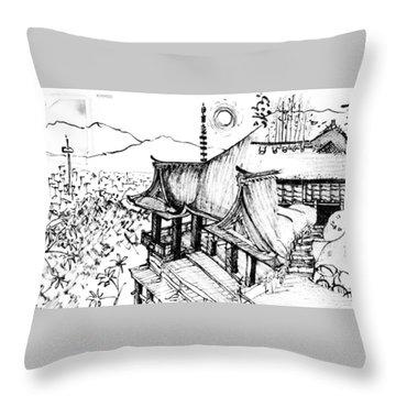 5.24.japan-5-detail-c Throw Pillow