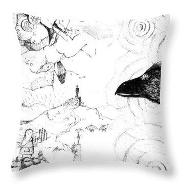 5.29.japan-6-detail-d Throw Pillow
