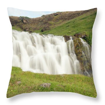 Untitled Throw Pillow by Kathy Schumann