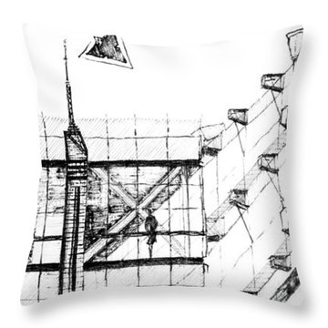 5.32.japan-7-detail-b Throw Pillow