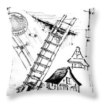 5.37.japan-8-detail-c Throw Pillow