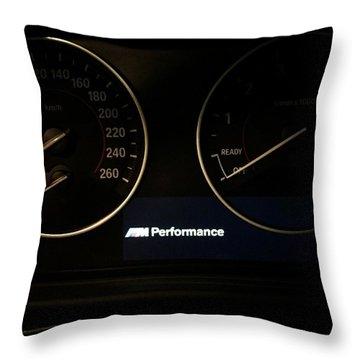 Bmw Logo Throw Pillows