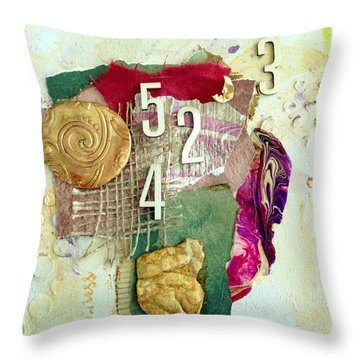 #5423, Joy And Happiness Throw Pillow