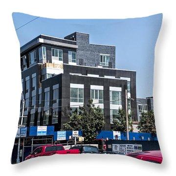 544 Union 3 Throw Pillow