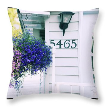5465 -h Throw Pillow by Aimelle