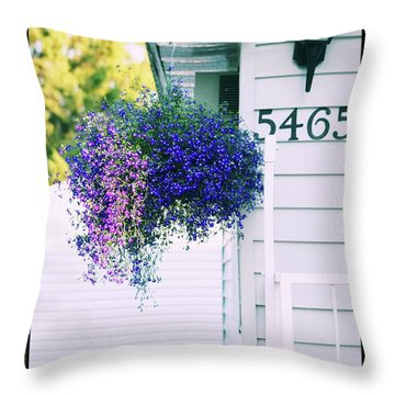 5465 -v Throw Pillow by Aimelle