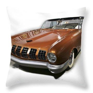 55 Merc Concept Throw Pillow
