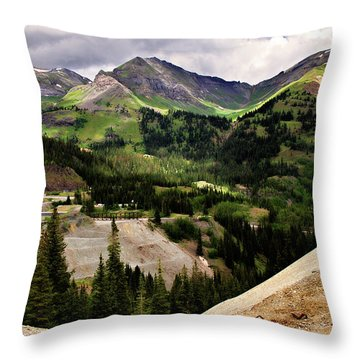 550 View Throw Pillow by Lana Trussell