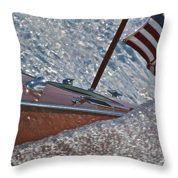 Patriotic Classic Throw Pillow