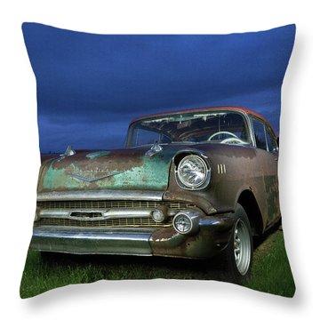 57' Chevrolet Throw Pillow