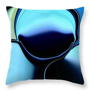 57 Distortions Throw Pillow