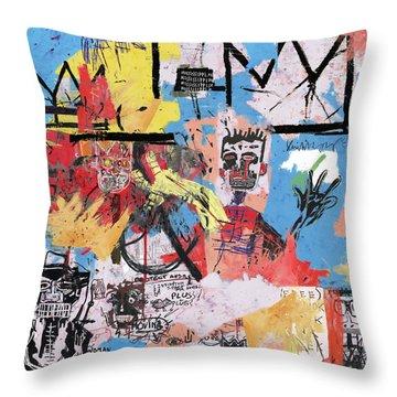 Basquiat Throw Pillows