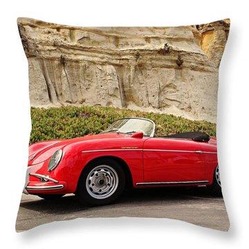 '57 Speedster  Throw Pillow