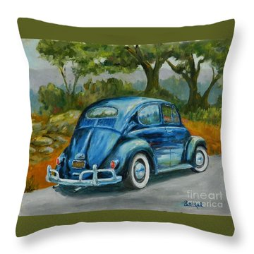 57 Vee Dub Throw Pillow