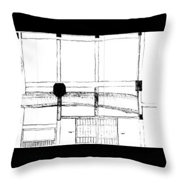 5.7.japan-2-right-side Throw Pillow