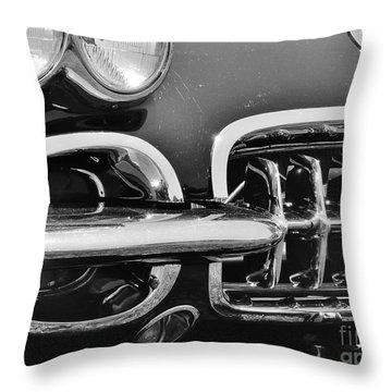 58 Corvette Throw Pillow