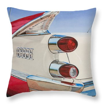 59 Dodge Royal Lancer Throw Pillow