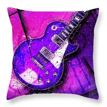 59 In Blue Throw Pillow by Gary Bodnar