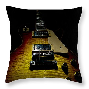 59 Reissue Guitar Spotlight Series Throw Pillow
