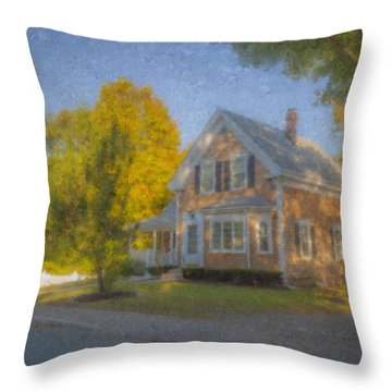 59 Williams Street Easton Ma Throw Pillow