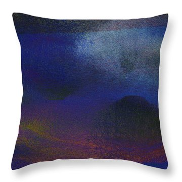5ive Throw Pillow by James Barnes